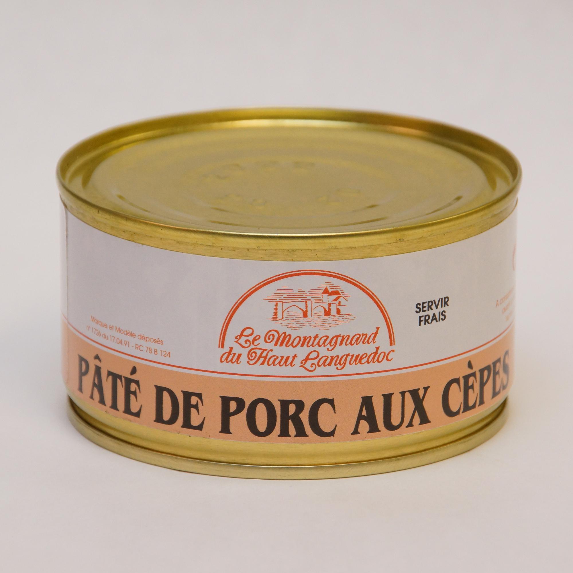 Pate porc cepes le montagnard du haut languedoc - Pate de porc maison ...